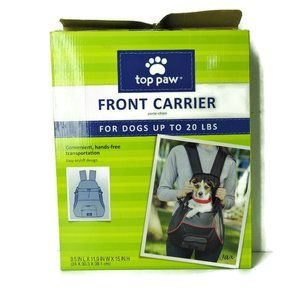 Top Paw Front Carrier (Dogs up to 20lbs)